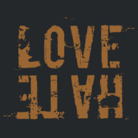 Love ABOVE Hate! Design